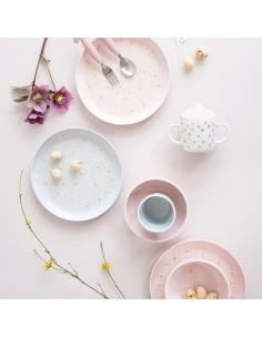 Talerzyk Contour Gold/ Powder Pink