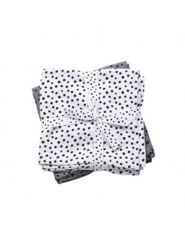 Pieluszki Dots Grey - 2 sztuki