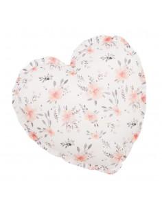 Poduszka Serce Kwiaty