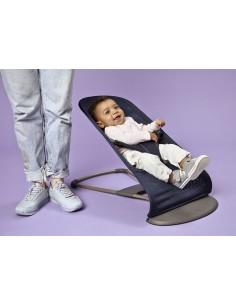 Leżaczek Balance Soft Mesh - Granatowy