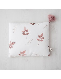 Podusia 25x30cm Dirty Pink Leaves