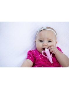 Szczoteczka Treningowa Baby Banana Pink
