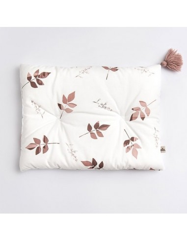 Poduszka bambusowa 25x35cm Dirty Pink Leaves