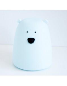 Lampka silikonowa Miś Mały Niebieski