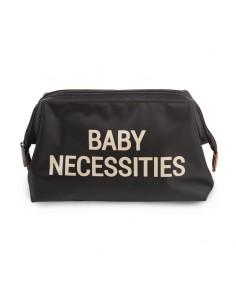 Kosmetyczka Baby Necessities czarno-złota