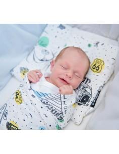Poduszeczka dla niemowląt Miś Podróżnik