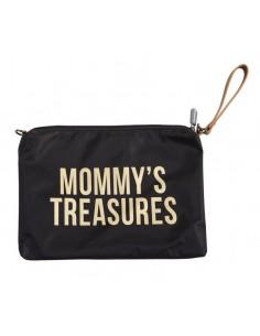 Torebka Mommy's Treasures Czarno złota