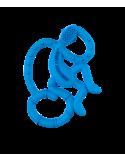 Gryzak Masujący Mini Matchstick Monkey Niebieski