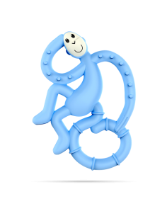 Gryzak Masujący Mini Matchstick Monkey Błękitny