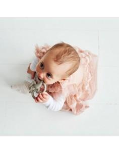 Gryzak Masujący Mini Matchstick Monkey Różowy