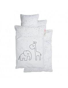 Poszewki na pościel dziecięcą Dreamy Dots White 100x135cm