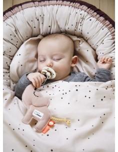Poszewki na pościel dziecięcą Dreamy Dots Powder 70x100cm