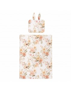 Pościel z wypełnieniem z uszkami 75x100cm Vintage Bloom