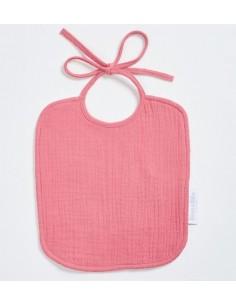 Śliniak muślinowy różowy