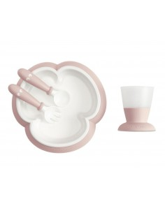 Zestaw do karmienia Powder Pink