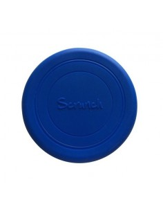 Frisbee silikonowe Scrunch Granatowe