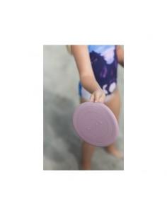 Frisbee silikonowe Scrunch Pudrowy Róż