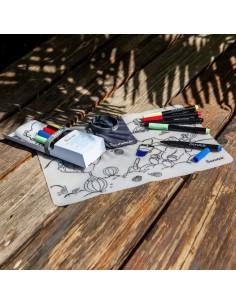 Mata do kolorowania wielokrotnego użytku Scrunch - Nad morzem