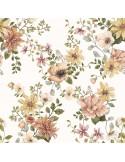 Poduszka bambusowa Vintage Bloom z uszkami 25x35cm