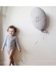Poduszka Balon Oh Boy Light Grey