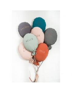 Poduszka Balon Oh Girl Dusty Pink