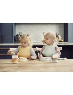 Zestaw obiadowy - Powder Yellow, Baby Bjorn