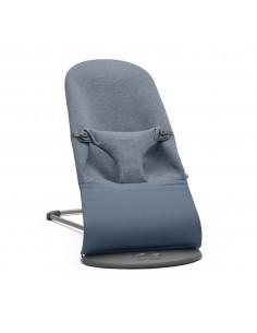 Leżaczek Bliss 3D Jersey Niebieski