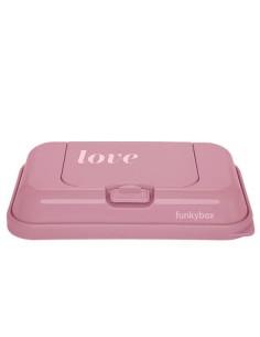 Pojemnik na Chusteczki To Go Vintage Pink Love, Funkybox