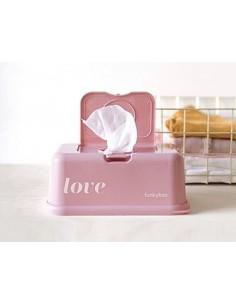 Pojemnik na Chusteczki Vintage Pink Love, Funkybox