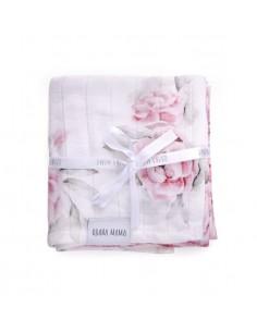Chusteczki muślinowe In Blossom 4pak 30x30cm, Qbana Mama