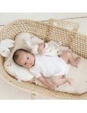 Poduszka bambusowa Maliny z uszkami 25x35cm