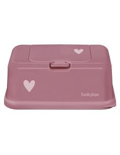 Pojemnik na Chusteczki Punch Pink Heart, Funkybox