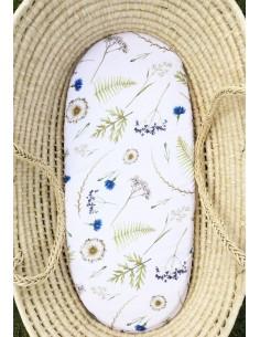 Prześcieradełko bambusowe do gondoli Herbal, Qbana Mama