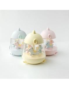 Lampka z pozytywką Kurczaczek żółta, Rabbit and Friends