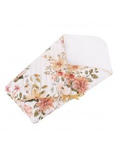 Rożek Niemowlęcy Pikowany Vintage Bloom, Samiboo
