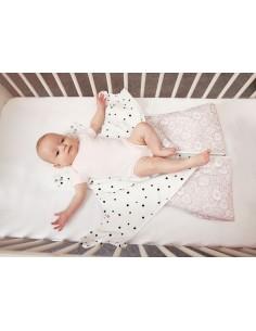 Śpiworek do spania NewBorn Pink 0-4 miesiące, Sleepee