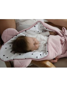 Rożek niemowlęcy Royal Baby Pink, Sleepee