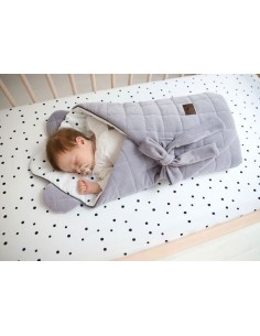 Rożek niemowlęcy Royal Baby Grey/ Grey, Sleepee