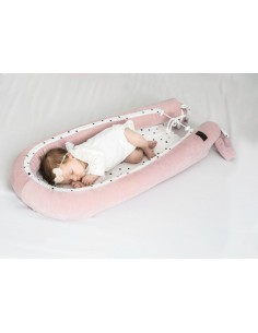 Gniazdko/Kokon Niemowlęcy Royal Baby Pink, Sleepee
