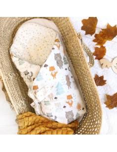 Rożek niemowlęcy WoodLand, Colorstories