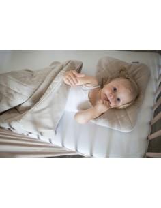 Zestaw Kocyk Welurowy z poduszką Royal Baby Grey, Sleepee