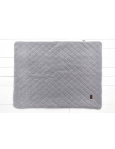 Kocyk Welurowy Royal Baby Grey 80x100cm, Sleepee