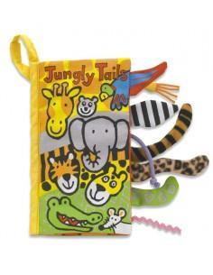 Książeczka Dżungla z ogonami 21cm, Jellycat