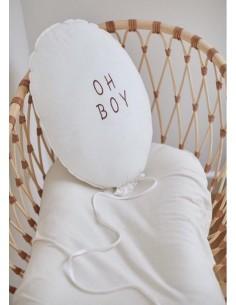 Poduszka Balon Oh Boy Ecru, Malomi