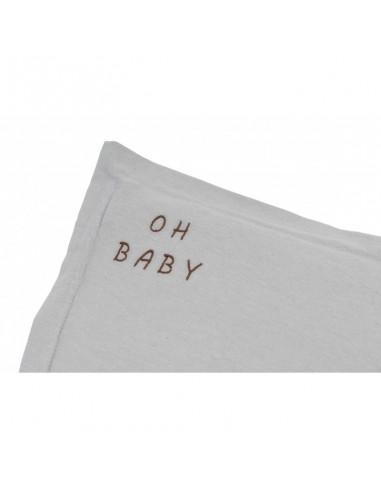 Poduszka Oh Baby Washed Grey 25x35, Malomi