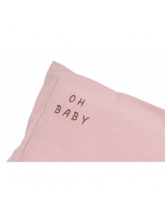 Poduszka Oh Baby Washed Pink 25x35, Malomi