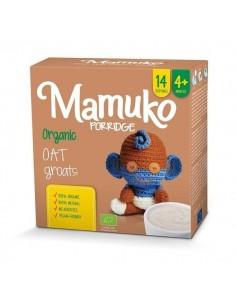 Organiczna kaszka owsiana 4m+, Mamuko