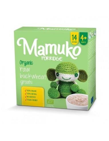 Organiczna kaszka z jasnej gryki 4m+, Mamuko