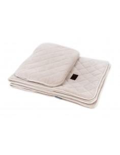 Zestaw Kocyk Welurowy z poduszką Royal Baby Sand, Sleepee