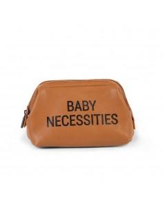 Kosmetyczka Baby Necessities Brązowa, Childhome